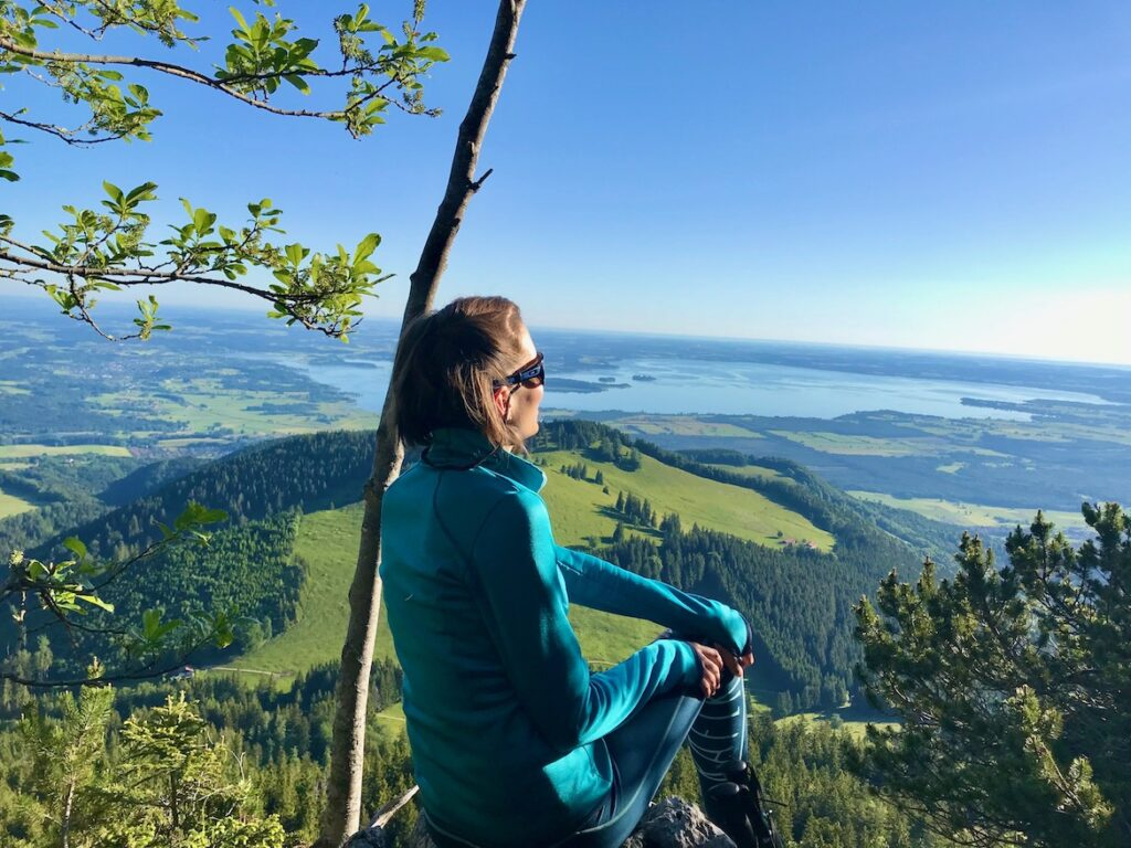 view to Chiemsee