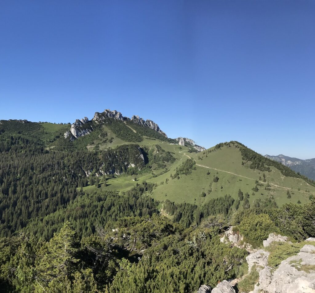view to Kampenwand