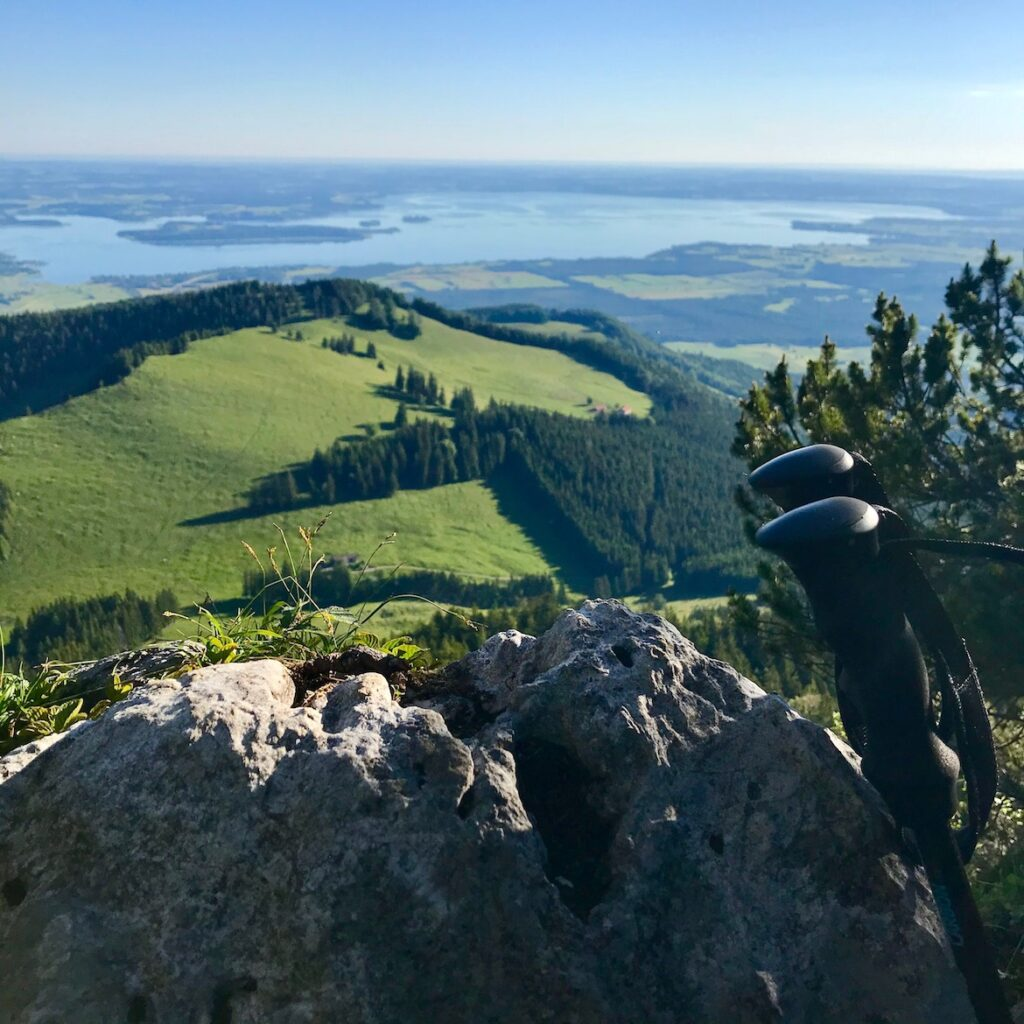 mountain view Chiemsee